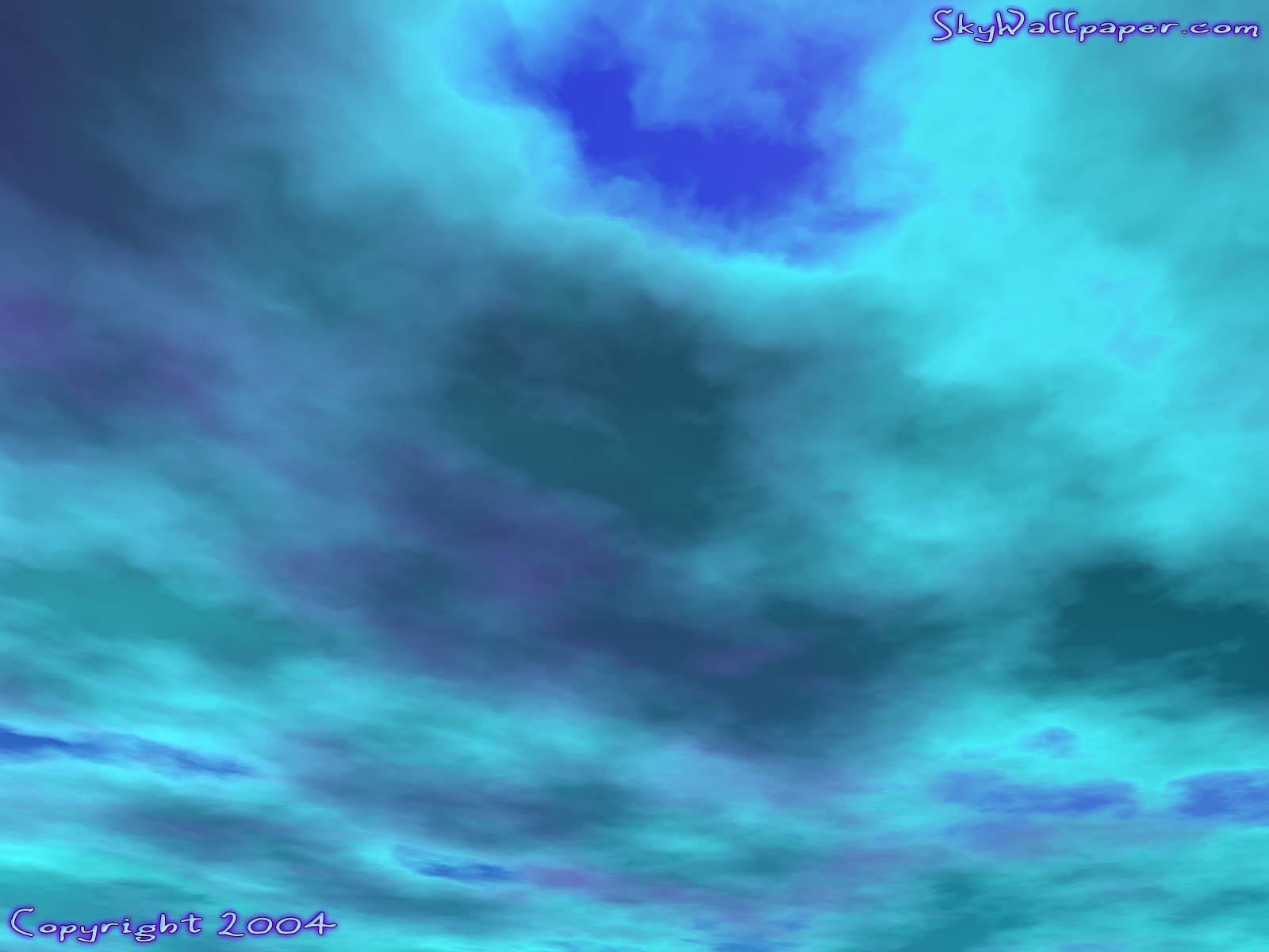 """Digital Sky Wallpaper Image"" - Wallpaper No.1.  Click for 640x480 or select another size."