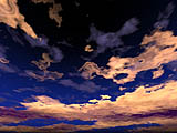 """Digital Sky Wallpaper Image"" - Wallpaper No.39.  Click for 640x480 or select another size."