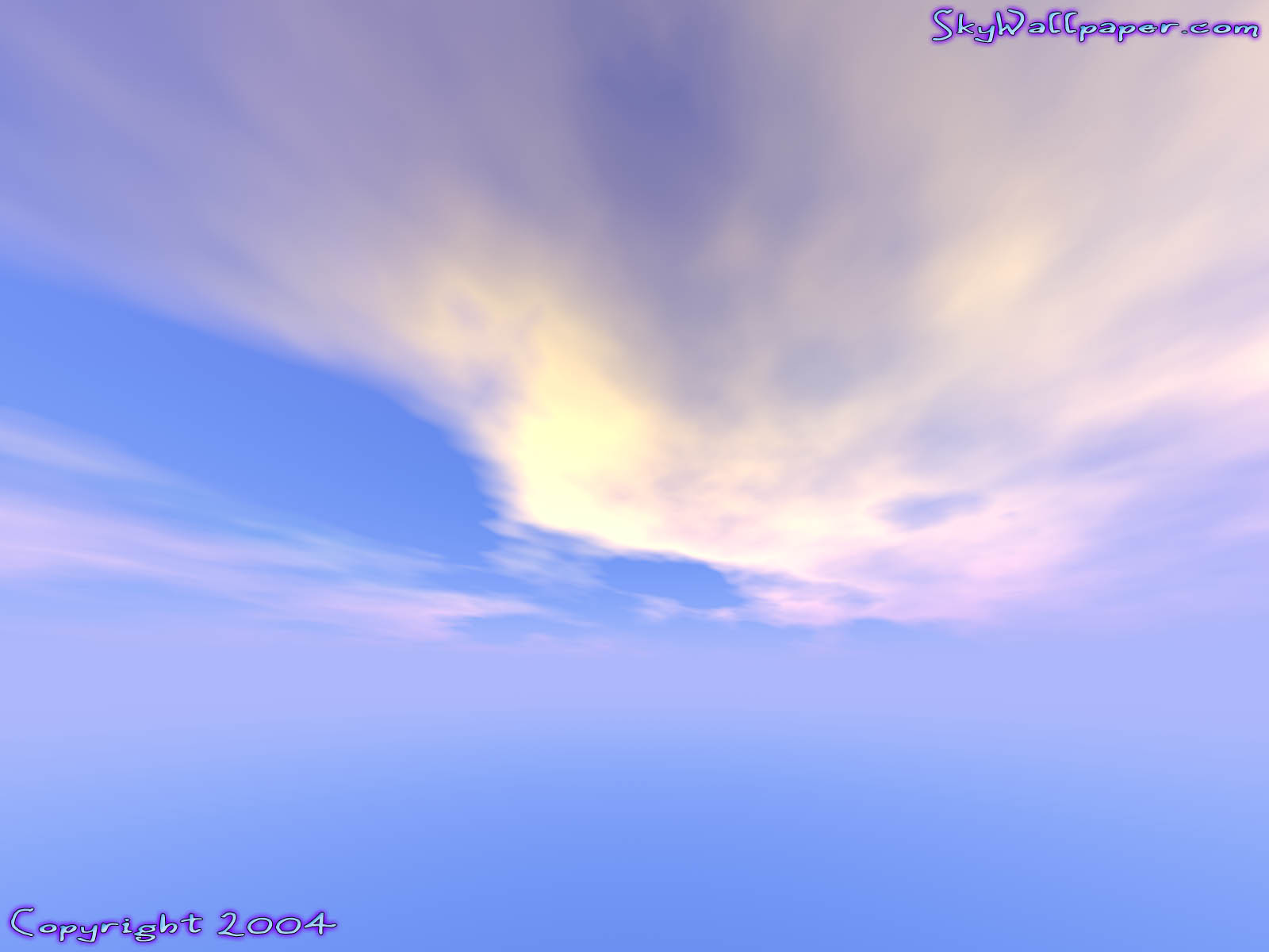 """Digital Sky Wallpaper Image"" - Wallpaper No. 92 of 109. Right click for saving options."